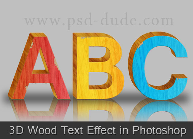 how to use 3d in photoshop for fonts
