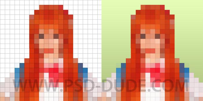 Convert Image To 8 Bit Photoshop Action - Photoshop tutorial | PSDDude