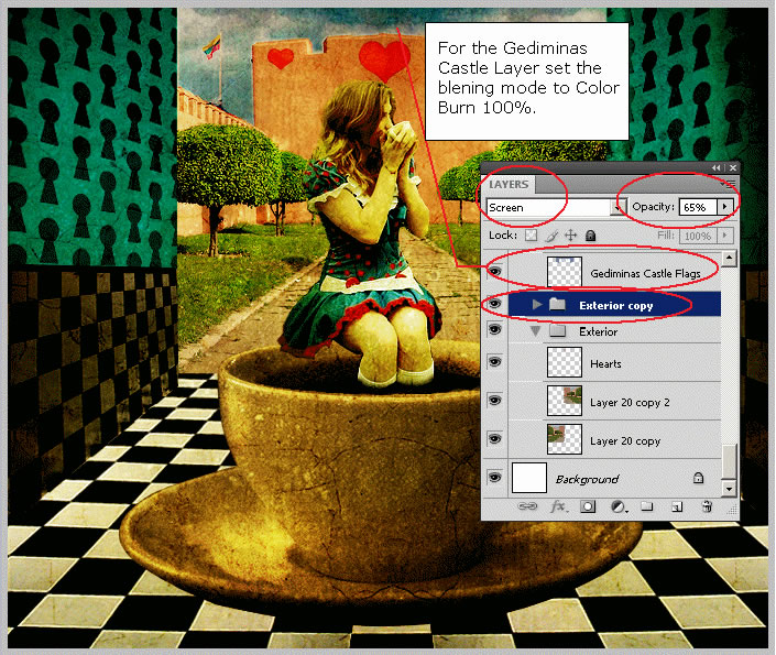 alice-in-wonderland-drinking-tea-in-the-royal-courtyard tutorial intermediary image