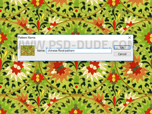 Create Pattern from Image in Photoshop