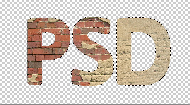 how to make text look real in photoshop