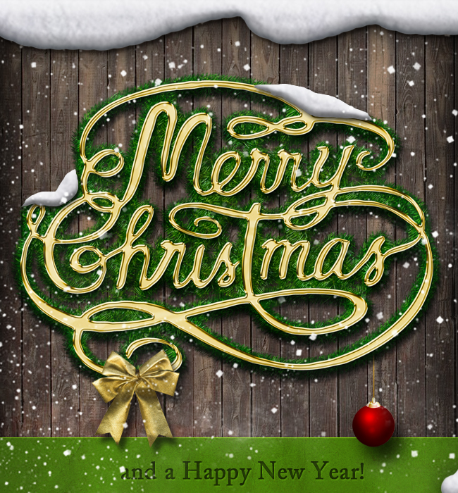 Christmas and new year greeting card photoshop tutorial photoshop lets start with a simple wood background you can choose one of these wood textures or you can use the exact image that i used link m4hsunfo