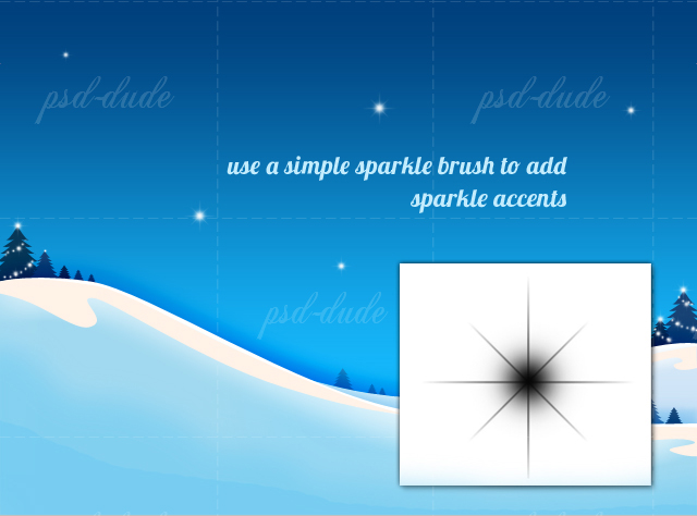 how to create sparkle effect in photoshop
