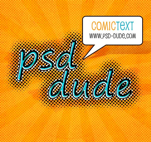 Create a Comic Book Text Style in Photoshop