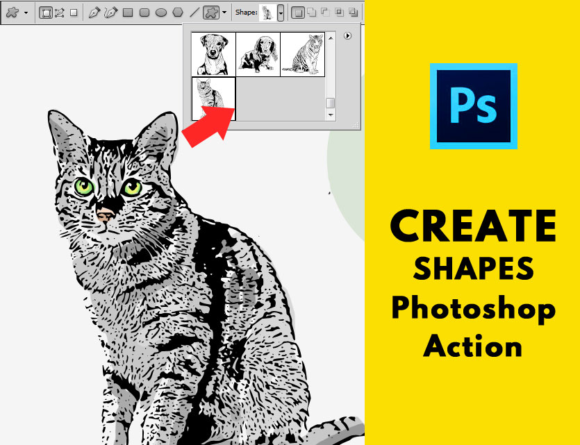 Create Photoshop Shapes