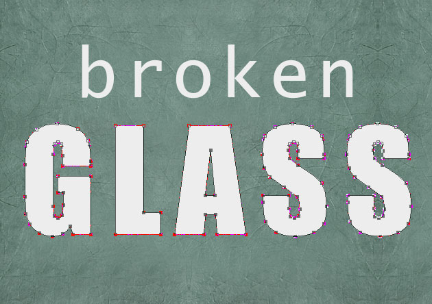 Photoshop Text Effects Create a Broken Glass Text in Photoshop Tutorial