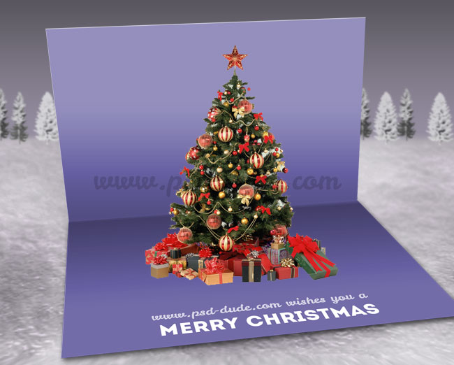 Create a christmas pop up greeting card in photoshop photoshop create a christmas pop up greeting card in photoshop photoshop tutorial psddude m4hsunfo