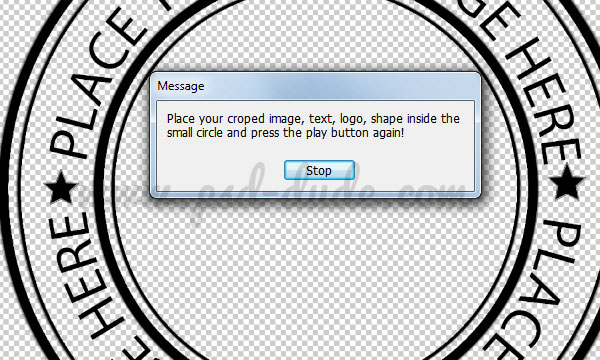 Create A Christmas Rubber Stamp In Photoshop on Shapes Rubber Stamp