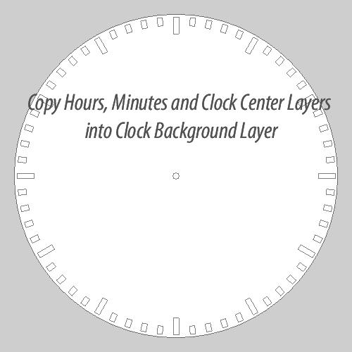 Create a Clock Custom Shape in Photoshop - Photoshop tutorial | PSDDude