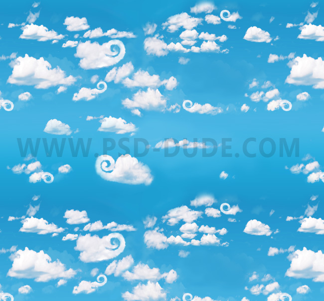 clouds background seamless