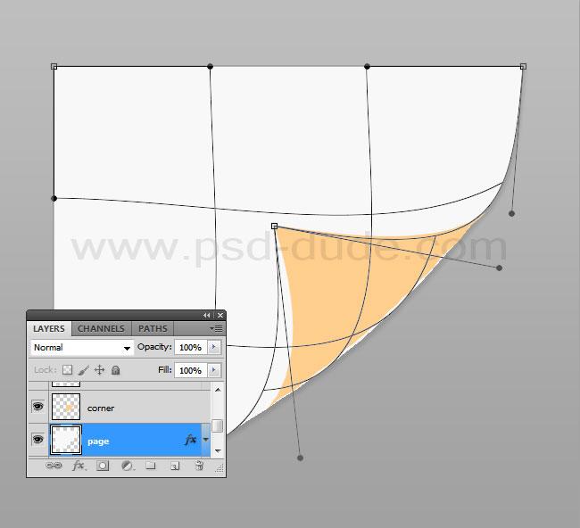Create a Page Curl Photoshop Tutorial - Photoshop tutorial | PSDDude