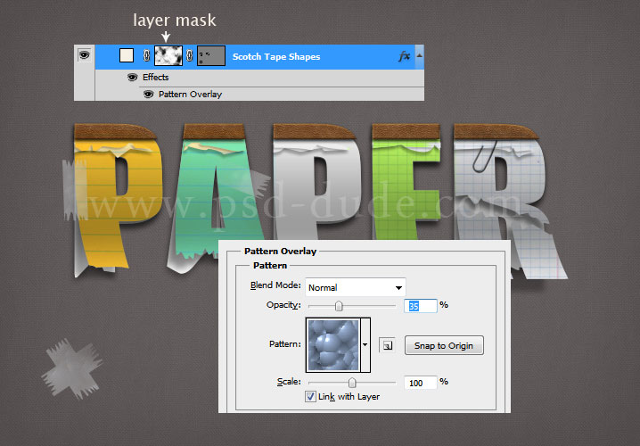 how to make layer mask black and not white photoshop