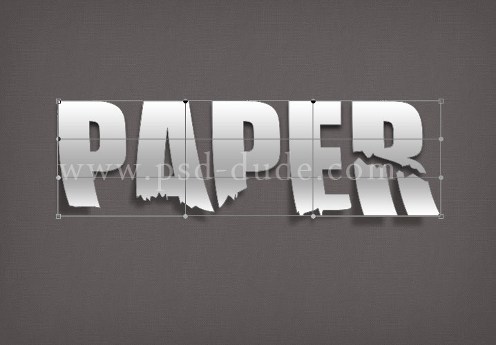 Duplicate the Text Paper Shape 2 and change the old Gradient Overlay with this new one presented in the image below. The idea is to add some color to the ... & Create a Paper Text in Photoshop - Photoshop tutorial | PSDDude