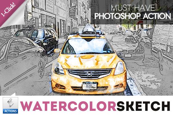 Photoshop Sketch Action | PSDDude