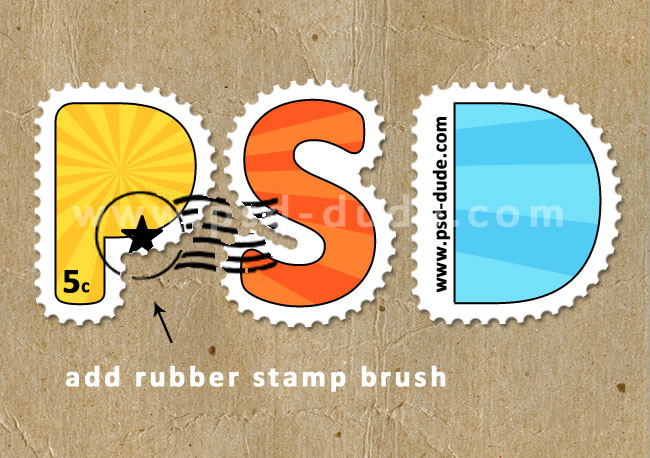 postage stamp edges