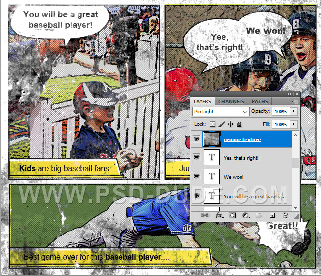 how to make a comic book using photoshop