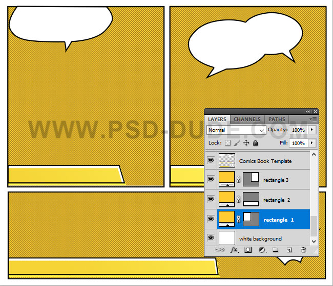 Add The Baseball Photo Above First Rectangle Layer Right Click And Choose Create Clipping Mask