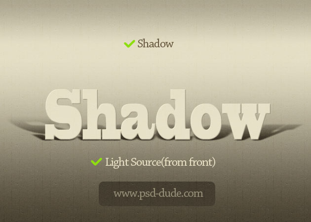 Create a Text Shadow in Photoshop