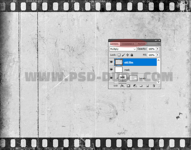 old film texture for photoshop
