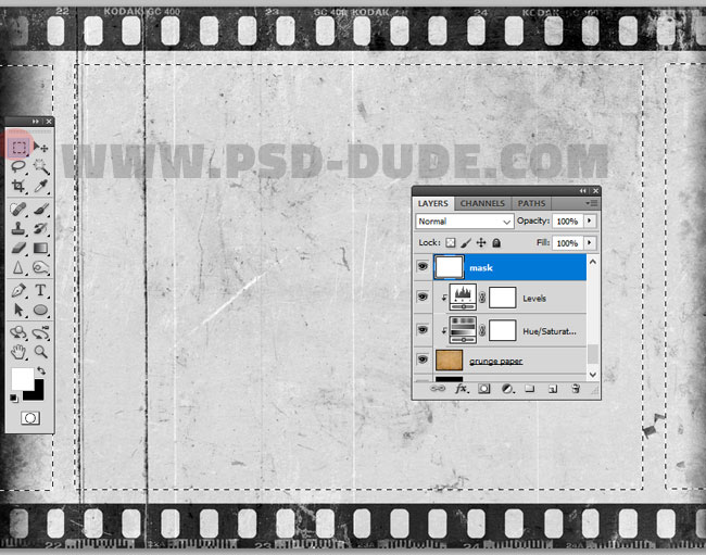 filmstrip frame for photoshop