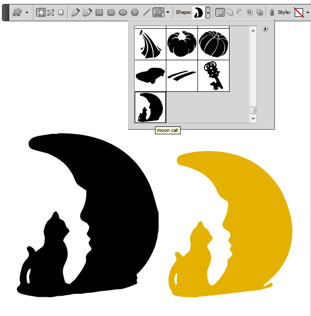 Create Custom Shape in Photoshop