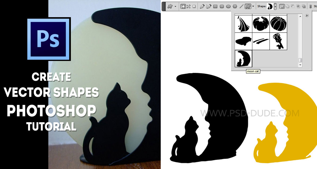 Vector Shape Photoshop Tutorial