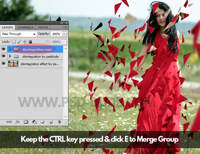 merge group in photoshop