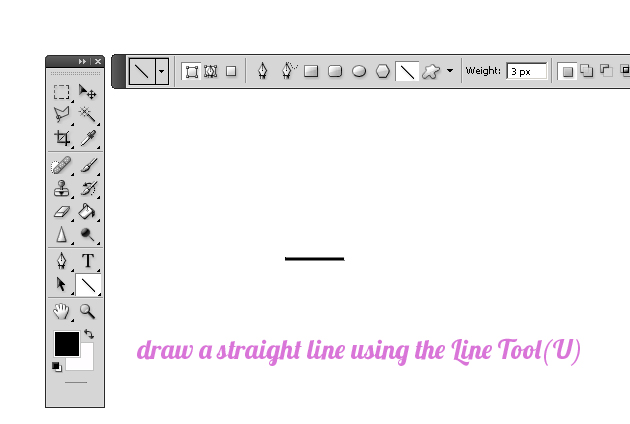 Drawing Straight Lines With Brush In Photo : Create sparkle brushes in photoshop tutorial