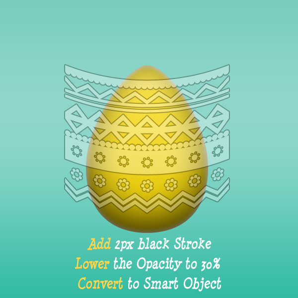 Blend Easter Egg Decorations In Photoshop