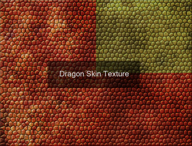 How To Create Dragon Skin Texture With Stained Glass Filter And Emboss In Photoshop