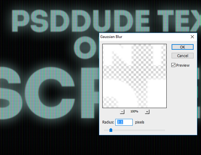 How to Create a Computer Screen LED Text Effect in Photoshop