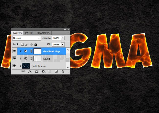 gradient map adjustment in photoshop