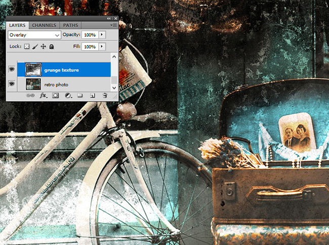 How to Make an Old Fashioned Photo Effect (Photoshop CS4 ...