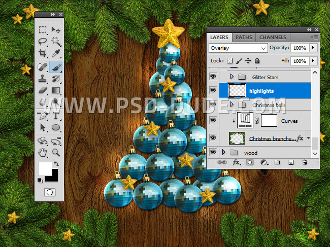 how to make a card in photoshop
