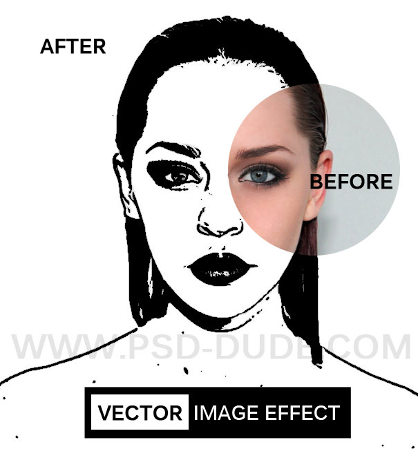 Photo to Vector in Photoshop