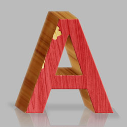 3D Wood Photoshop Text Effect