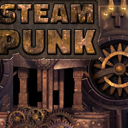 Victorian Steampunk Text Effect in Photoshop with GIF Animation