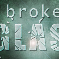 Create a Broken Glass Text in Photoshop