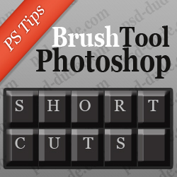 Brush Size Shortcut in Photoshop psd-dude.com Tutorials