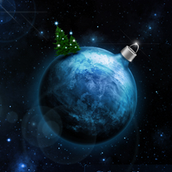 Christmas Wallpaper Photo Manipulation Tutorial