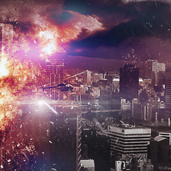 Apocalyptic City Explosion Photoshop Tutorial psd-dude.com Tutorials