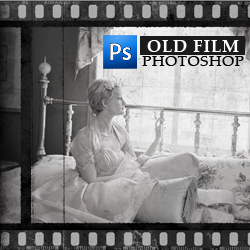 Create an Old Film Effect with Filmstrip Border in Photoshop psd-dude.com Tutorials