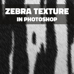 Create a Zebra Fur Texture in Photoshop from Scratch psd-dude.com Tutorials