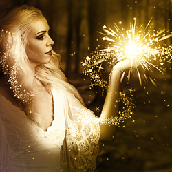 Magic Fairy Dust Photoshop Fantasy Manipulation Tutorial psd-dude.com Tutorials