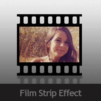 Adobe Photoshop Tutorial Image Negative Strip Effect