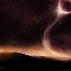 Planets Colliding in Our Galaxy Photoshop Tutorial
