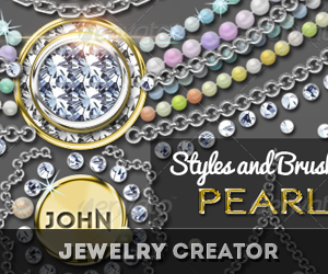 Diamond Gold Silver and Pearls Jewelery Creator