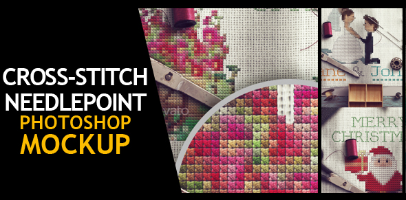 Embroidery and Stitching Photoshop Creation Kit - 5