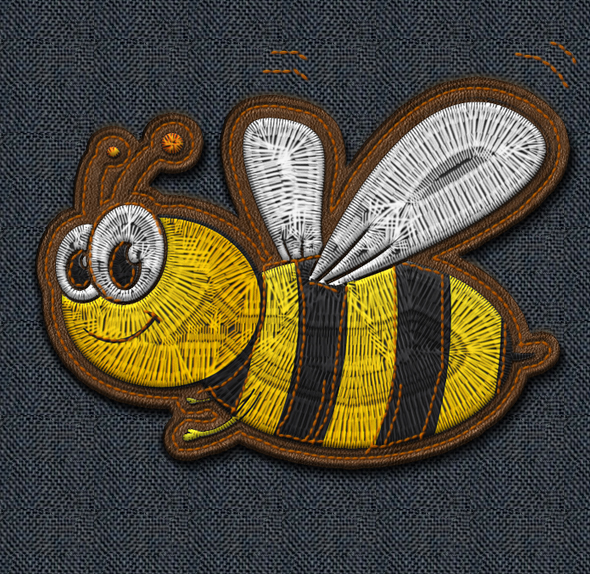 Embroidery and Stitching Photoshop Creation Kit - 1