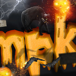 Make a Spooky Halloween Pumpkin Text Effect in Photoshop psd-dude.com Tutorials